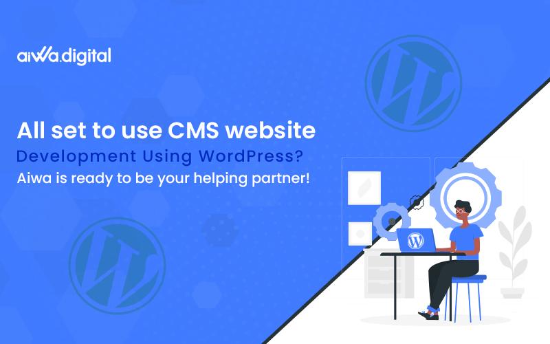 CMS website development using WordPress